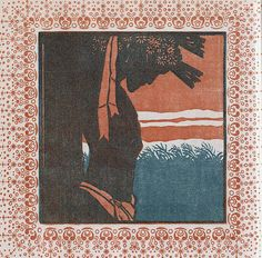 zombienormal:   July: The Fulfillment. Wood cut by Karl Müller, Ver Sacrum, 1903. Via.