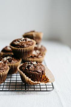 Dark Chocolate Kabocha Muffins