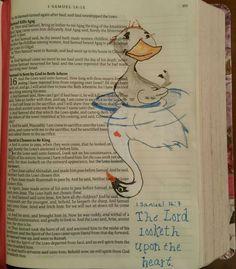 Image result for bible journaling 1 samuel