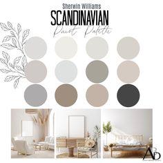 Warm Paint Colors, Modern Paint Colors, Farmhouse Paint Colors, Paint Colors For Living Room, Paint Colors For Home, Grey Living Room Ideas Color Schemes, Interior Paint Palettes, Interior Paint Colors, Interior Design Color Schemes