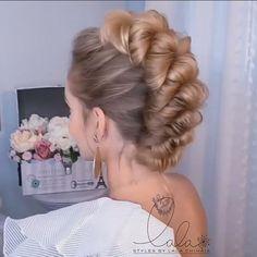 Bun Hairstyles For Long Hair, Braided Hairstyles, Hairstyles Videos, Little Girl Wedding Hairstyles, Elsa Hairstyle, Faux Hawk Hairstyles, Medium Hair Styles, Curly Hair Styles, Hair Upstyles