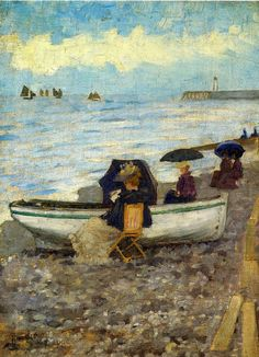 Maurice Prendergast, Dieppe, 1894