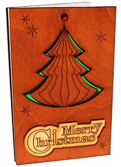 Handmade Wooden Sustainable Merry Christmas Greeting Card (with Christmas Tree) Merry Christmas Greetings, Christmas Greeting Cards, Christmas Tree, Handmade Wooden, Handmade Crafts, Eco Store, Photo Tree, Eco Products, Eco Friendly