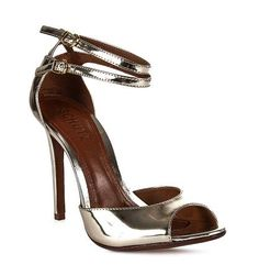 gold * Schutz shoes