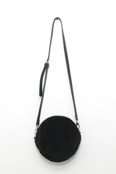 Textured Faux Fur Shoulder Bag Black - THE WHITEPEPPER (£38.00) - Svpply