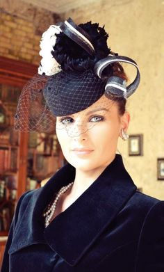 This hat is so classic and sophisticated. Love it. me too http://www.royaldressedladies.com/blog/inside-a-royal-dressed-princess-slut-part-1.html