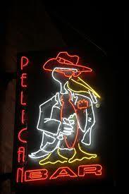 Pelican Bar Neon Sign.