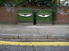 Whimsical Street Art by Filthy Luker http://restreet.altervista.org/le-installazioni-di-filthy-luker-si-impossessano-dei-nostri-centi-abitati/