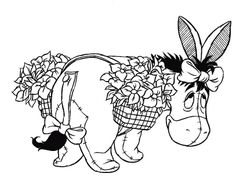 eeyore coloring pages - Google Search