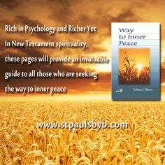 For Orders visit our website  or email us at stpaulsbybonline@gmail.com #BookMarketing #Spiritual #Book Spirituality Books, Book Show, New Testament, Fulton, Christian Faith, Inner Peace, Psychology, Website, Psicologia