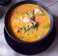 Thai Cuisine  Tomyum soup  Much as I love my Vietnamese food, Thai cuisine is just as awesome!