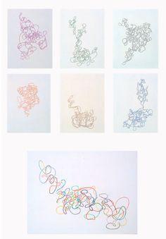 "Suzy Potaznik - Scoo Be Doo Be Doo  - Kleurpotlood - Stedelijke Academie BK ""Roger Avermaete"" Berchem"