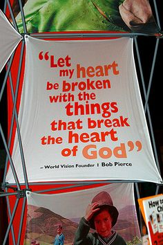 world vision founder, Bob Piercechanged how I think about the world. Change how your daughter thinks about the world. Heart4Hearts Dolls donates portion of their MODEST purchase price to World Vision ! A proven established charity. Works to break poverty cycle in culture...Also works to help God renew the Inner person. Win win!