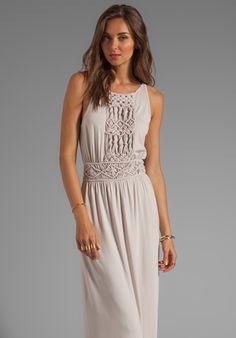 TRINA TURK Deidi Dress in Limestone at Revolve Clothing - Free Shipping!