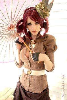 Steampunk Couture - I actually might wear something like this!