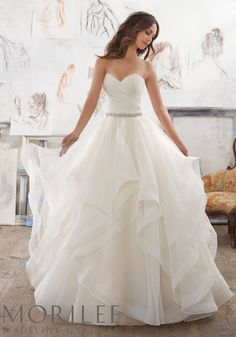 """Morilee by Madeline Gardner """"Marissa"""" Style 5504 