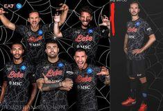 SSC Napoli 2021 EA7 Halloween Kit