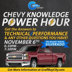 Chevy Knowledge Power Hour