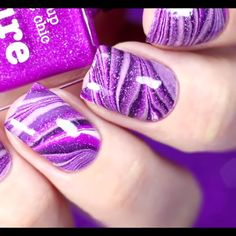 Girls if you wanna see more nail-art ideas that you can easily apply at home then just visit our website there are more tutorials! Nail Art Diy, Cool Nail Art, Diy Nails, Cute Nails, Pretty Nails, French Nails, Nail Art Videos, Nail Art Designs Videos, Manicure E Pedicure