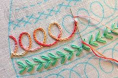 Marvelous Crewel Embroidery Long Short Soft Shading In Colors Ideas. Enchanting Crewel Embroidery Long Short Soft Shading In Colors Ideas. Embroidery Stitches Tutorial, Learn Embroidery, Silk Ribbon Embroidery, Crewel Embroidery, Hand Embroidery Patterns, Embroidery Techniques, Cross Stitch Embroidery, Machine Embroidery, Embroidery Kits