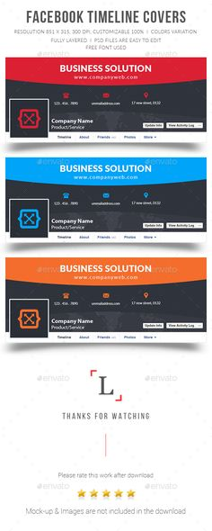 Motanawa Facebook Timeline Covers Bundle Timeline covers - advertising timeline template