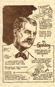 1977-81 Bob Parker Hall of Fame #44 A.G. Spalding Front