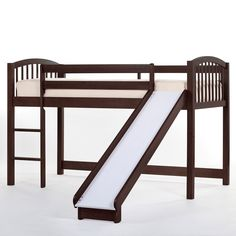 Have to have it. Schoolhouse Junior Loft with Slide - Chocolate $464.00