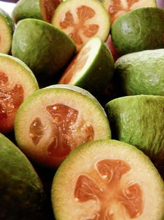 Two great feijoa recipes: Feijoa chutney and feijoa loaf - Kristina has seen th. - Two great feijoa recipes: Feijoa chutney and feijoa loaf – Kristina has seen the light when it c - Fejoa Recipes, Guava Recipes, Chutney Recipes, Fruit Recipes, Cooking Recipes, Pineapple Guava, Guava Jam, Fig Jam, Jam And Jelly