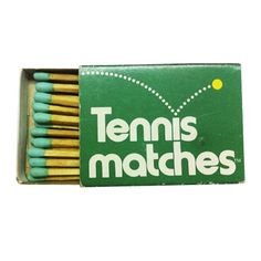 Tennis Matches — Designer unknown