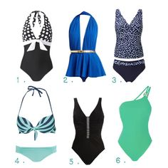 Swimsuits for Pear Shapes