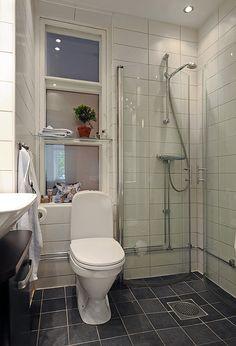 mi piace l'idea delle pareti della doccia non fisse!