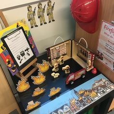 Firefighters Year 1 Classroom, Early Years Classroom, Classroom Ideas, Reading Den, Maths Display, People Who Help Us, Creative Area, Block Play, Letter Of The Week