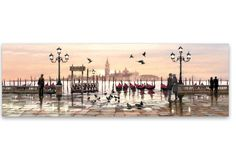 Tablou Canvas Watercolor Venice Watercolor Canvas, Venice, Paris Skyline, Design, Products, Wall Canvas, Frame, Dekoration, Venice Italy