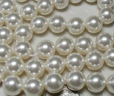 freshwater pearl pairs round pearls, cultured pearl beads,natural pearls, loose pearl bead-- h Real Pearl Necklace, Pearl Beads, Pearl Ring, Glass Jewelry, Pearl Jewelry, Loose Pearls, Beading Supplies, Jewelry Supplies, Pearl Color