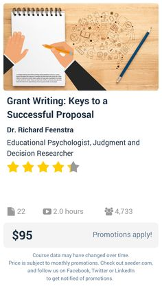Grant Writing Made Easy Online Course  Grant Writing Grant