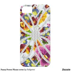 Pansy Power Phone cover