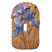 Cabinet Knobs & More, Cabinet Pulls & Hinges, Clothes Pin Pulls Switch Plate Covers, Light Switch Plates, Light Switch Covers, Wild Iris, Lowes Home Improvements, Cabinet Knobs, Cool Tools, Clay Creations, You Are The Father