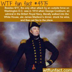 attacks on washington dc wtf fun facts #historyfacts Attacks on Washington D.C. -   WTF fun facts