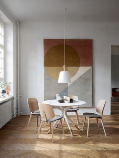 Merci Store, Boconcept, Estilo Interior, Suspension Design, Oak Dining Table, Dining Chairs, Aarhus, Dining Room Design, Dining Rooms