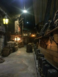 Entrance to Pirates of Nassau