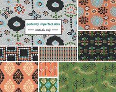 #fabricdesign #textiledesign #patterndesign #texture #print #artlicensing #collection #fabriccollection #dots #polkadots