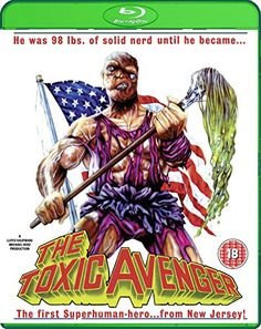 The Toxic Avenger - Uncut Nuclear Edition [Blu-ray] 88 Films Real 80's cheese cool soundtrack too 4****