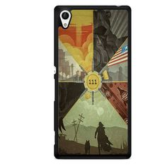Fallout 4 Collage Arts TATUM-4076 Sony Phonecase Cover For Xperia Z1, Xperia Z2, Xperia Z3, Xperia Z4, Xperia Z5