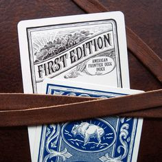 Frontier Deck premium Bicycle playing card deck