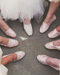 Toms or Chucks WILL be what I wear at my wedding. No one will see my shoes, might as well be comfy.