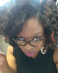 Crochet braids with Marley Hair #protectivestyles #crochet #Marley #natural#hair#summer