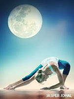 Chandra Namaskar - or - Moon Salutation..... I seriously love this. I've been pairing it with a yin yoga sequence just before bed and it makes me feel like magic.