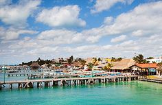 Isla Mujeres, Mexico: Though it's only a short ferry ride from Cancun, this serene, five-mile-long island—a former fishing. Friendly Islands, Dreams Resorts, Mangrove Forest, Easter Island, Vacation Deals, Great Vacations, Vacation Packages, Honeymoon Destinations, Travel And Leisure