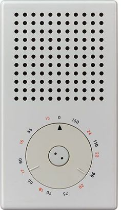 Pocket Radio / Dieter Rams - resemble any recent successful product by chance? Jonathan Ive inspired by Dieter Rams. I would never have guessed. Minimal Design, Ui Design, Icon Design, Graphic Design, Little Designs, Cool Designs, Radios, Bauhaus, Dieter Rams Design