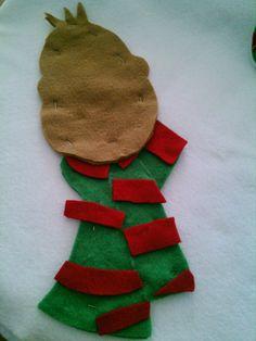 Las Manos de Angelica: Reno de Navidad Christmas Crafts, Christmas Ornaments, Christmas Stockings, Projects To Try, Holiday Decor, Craft Ideas, Feltro, Easter Crafts, Round Glass